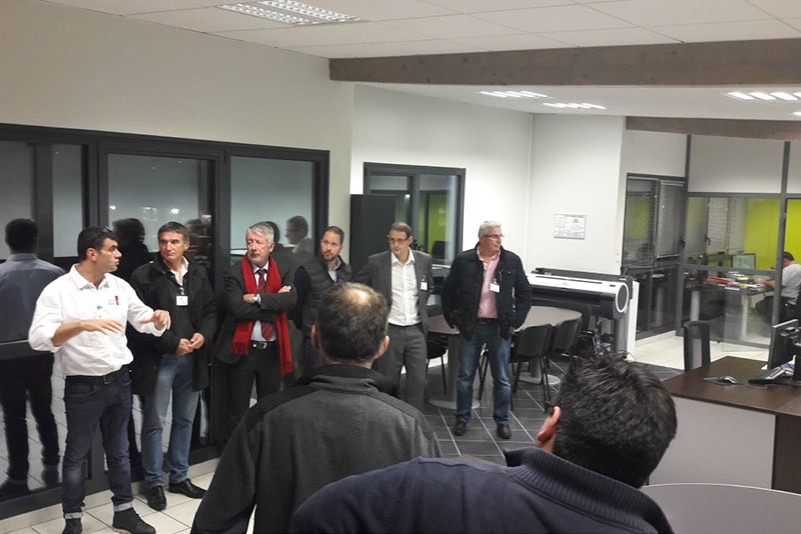 DMA Group opens its doors to the members of the AEPV