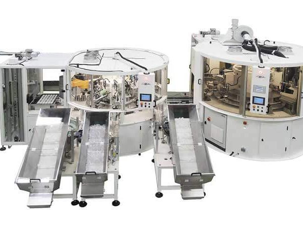 ASSEMBLY AND MARKING MACHINE